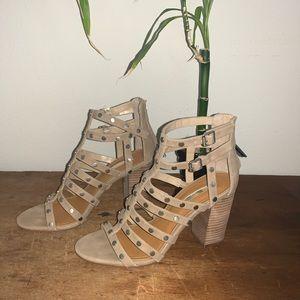 🔐 WOMENS 8.5M BCBGeneration Chasta Heel Sandals